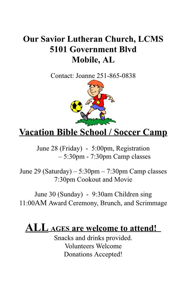 vbs soccer camp